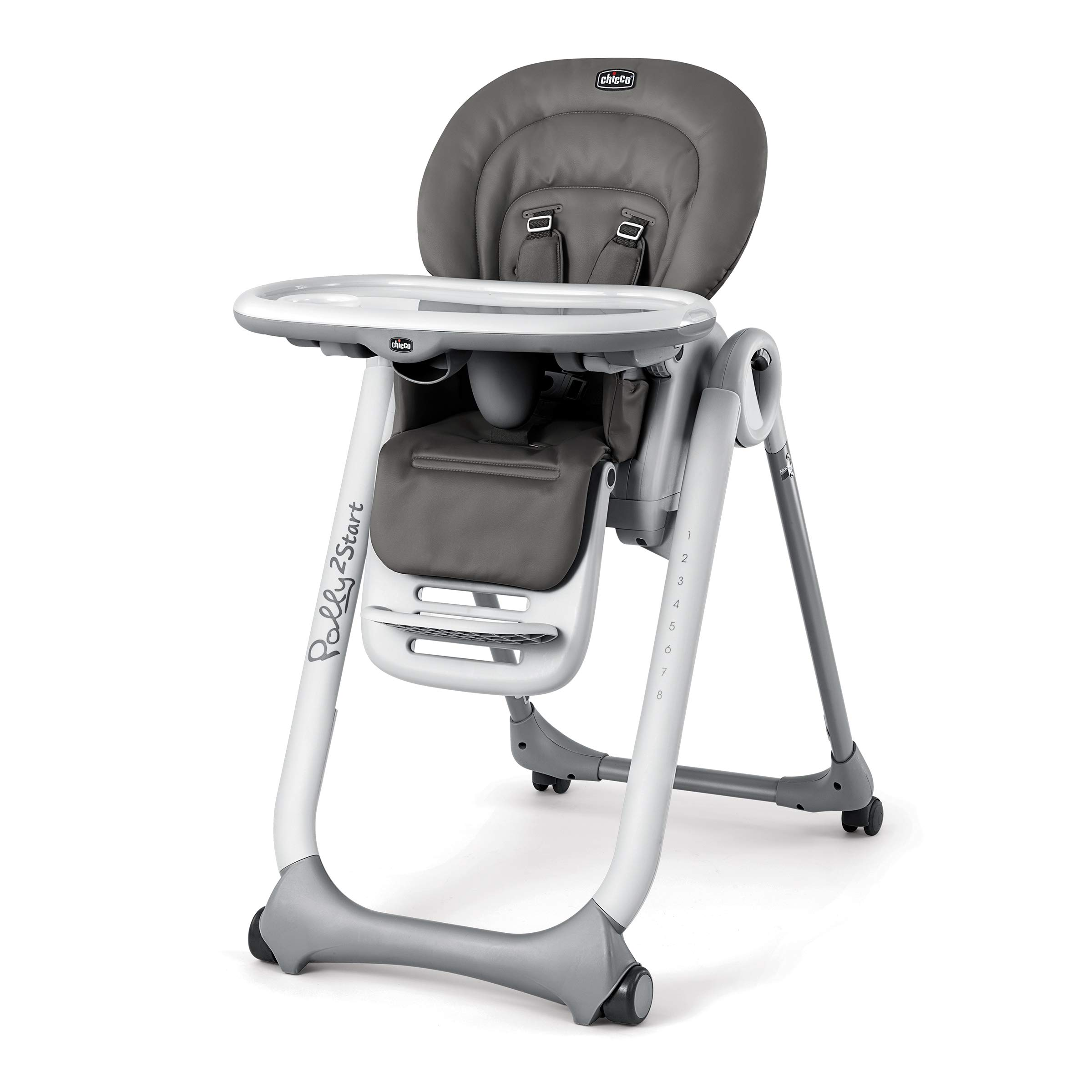 Chicco Polly2Start Highchair, Graphite by Chicco