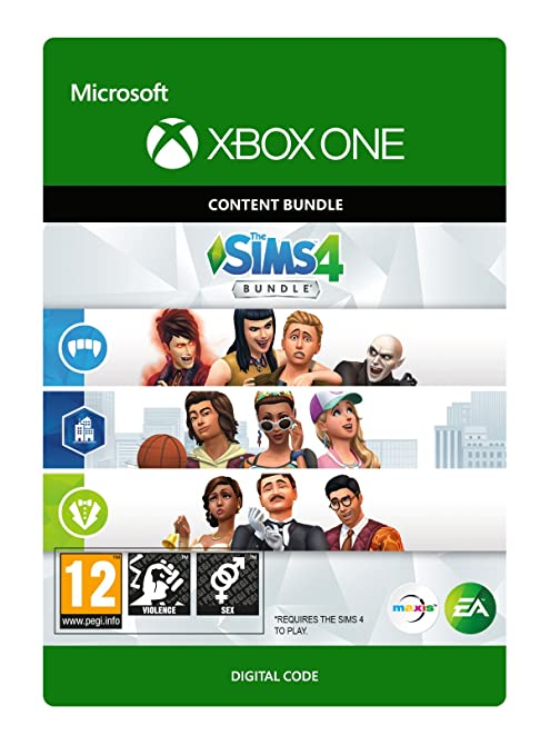 The Sims 4: Extra Content Starter Bundle Dlc   Xbox One   Download Code by Electronic Arts