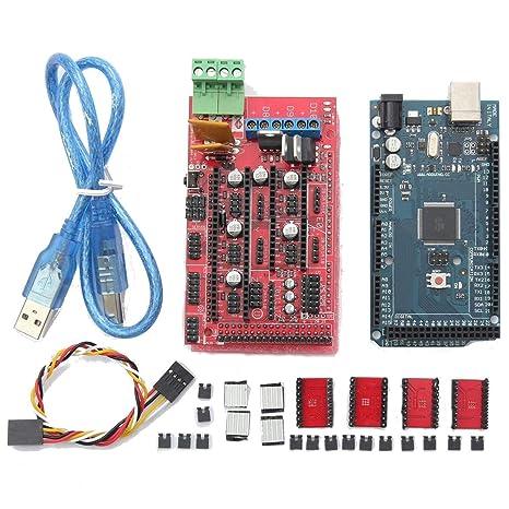 Yangxz Mega2560 R3 + rampas 1.4 Impresora + A4988 óptico de Final ...