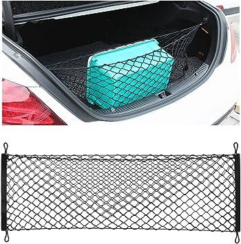 Thie2e Cargo Net Car Rear Envelope Trunk Storage Net Organizer Fit Kia Sorento 2014 2015 2016 2017 2018 2019