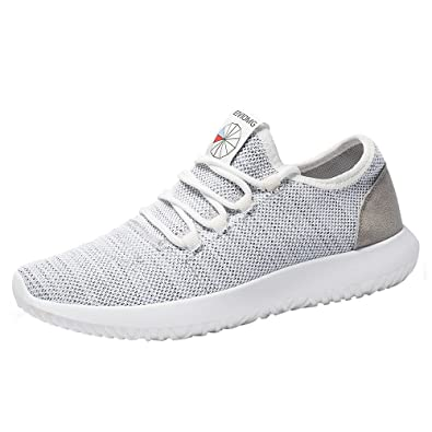 GongzhuMM Chaussures de Sport Hommes à Lacets Chaussures de Course Baskets  Basse Compétition Chaussures de Running 612837e168b0