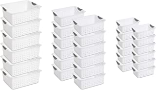product image for Sterilite Multi-Size Plastic Storage Basket Organizer Bundle Set (30 pieces)