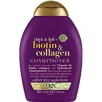 OGX, Conditioner, Thick & Full+ Biotin & Collagen, New Gentle and PH Balanced Formula, 385ml