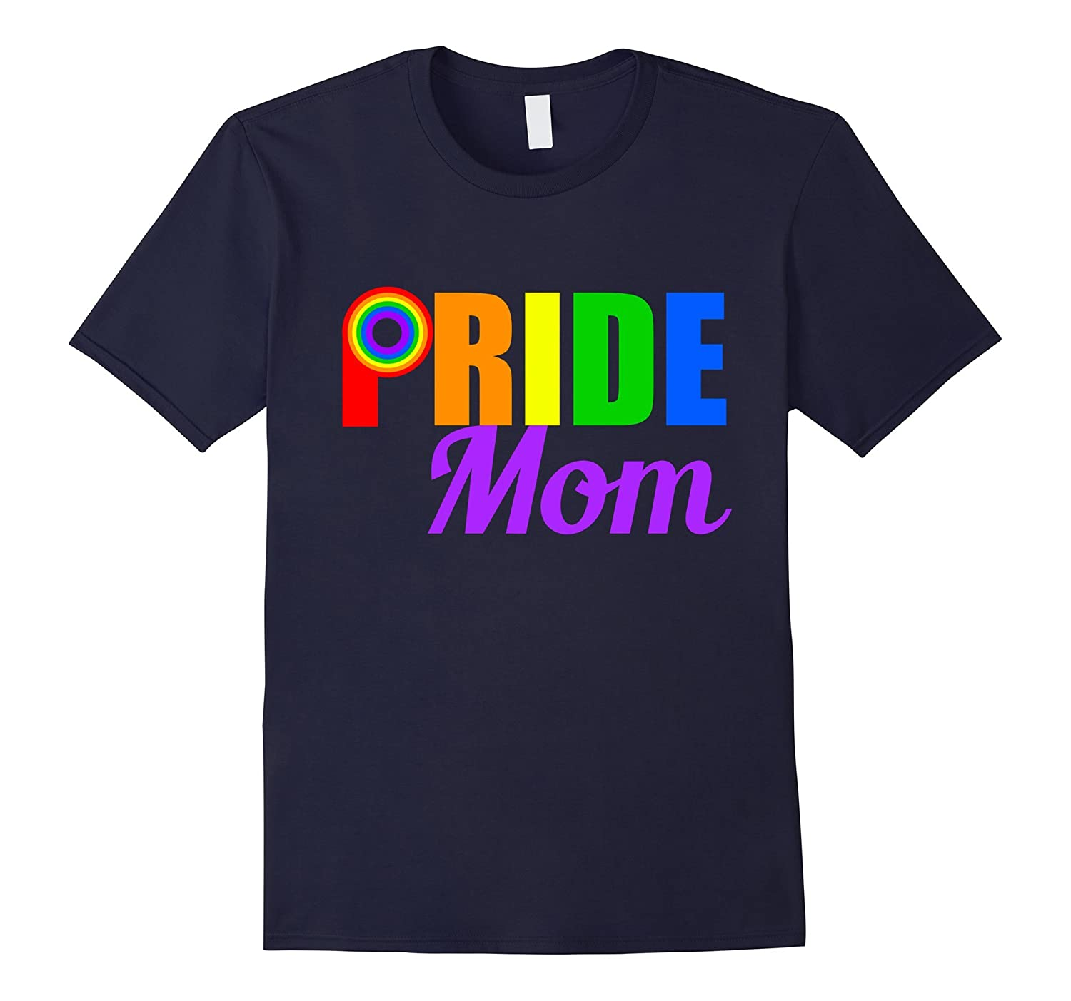 Gay Pride Mom T-Shirt-Vaci