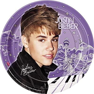 Justin Bieber Dessert Plates, 8ct: Toys & Games [5Bkhe0301893]