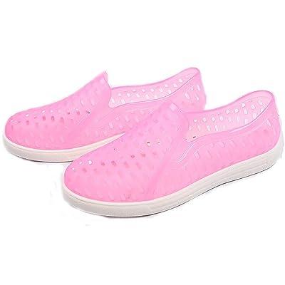 Luise Hoger Unisex Ankle Arrival Rain Boots Flat Shoes Woman Rain Woman Water Rubber Ankle Boots Air Botas Plus Size 36-44 Pink 5.5
