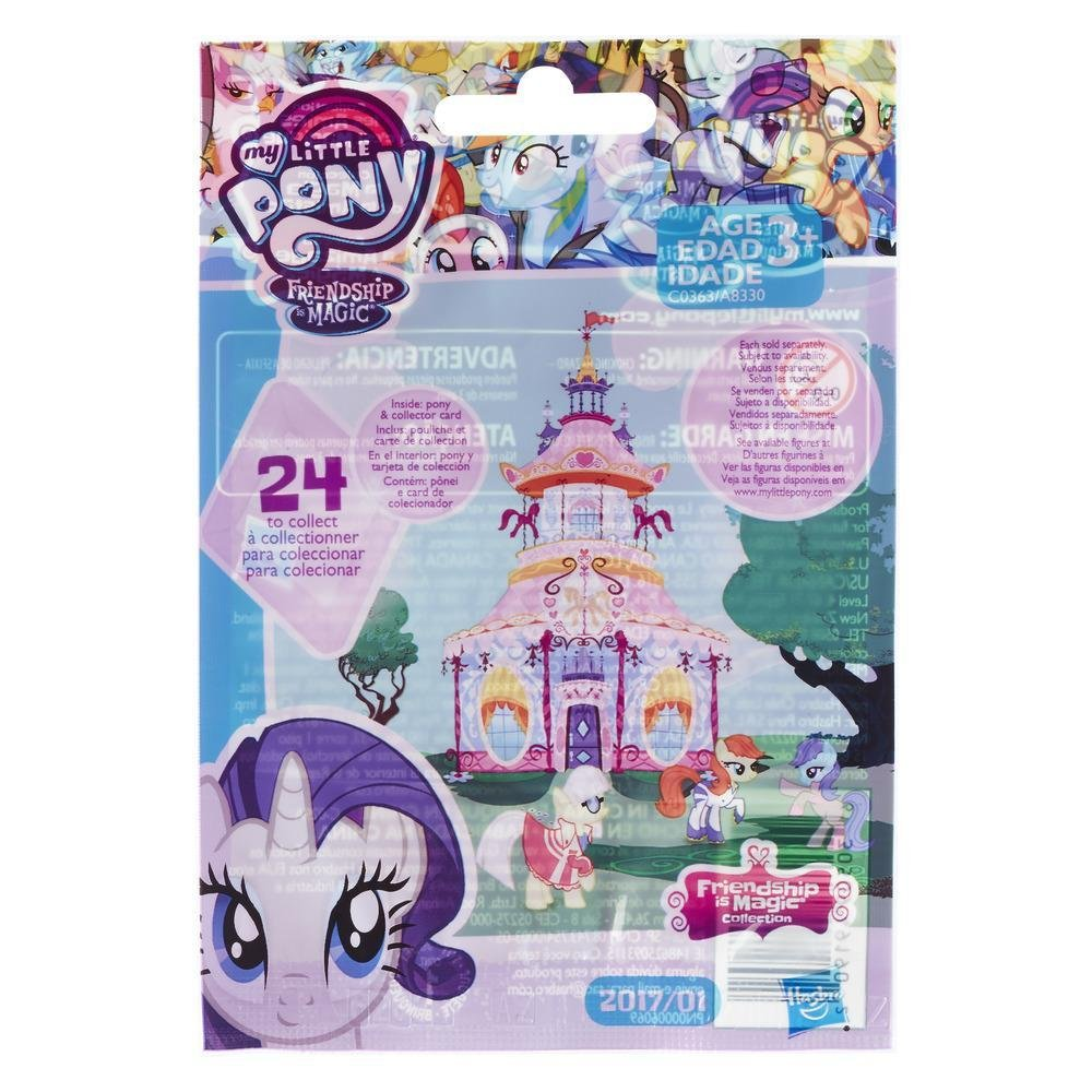 Amazon.com: My Little Pony - Wave 20 - Friendship Is Magic Collection Surprise Figure - 1x Blind Bag: Toys & Games