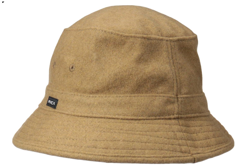 c140ce27ac2856 Amazon.com: RVCA Men's Oak Bucket Hat, Bark One Size: Clothing