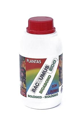 BIOABONO Bachumus Planta-flor 500ml: Amazon.es: Jardín