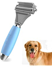 ColPet Dematting Comb Grooming Rake Brush for Cats Dogs