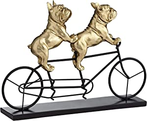 Studio 55D Bulldogs on Bicycle 15 3/4