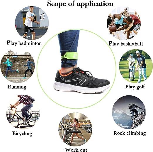 4 Stü Fahrrad Knöchel Bein Strap Radfahren Bike Hosen Band Bein Clip Wrap