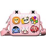 JONZOO Little Girls Purses Crossbody Messenger Bag Mini Waterproof Shoulder Bag for Girls 2, 3, 4, 5, 6 Years Old, 7.2x5…