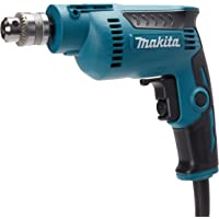 "Makita DP2010 Taladro 1/4"" v.v.r. 0-4,000 RPM, alta velocidad 350W"