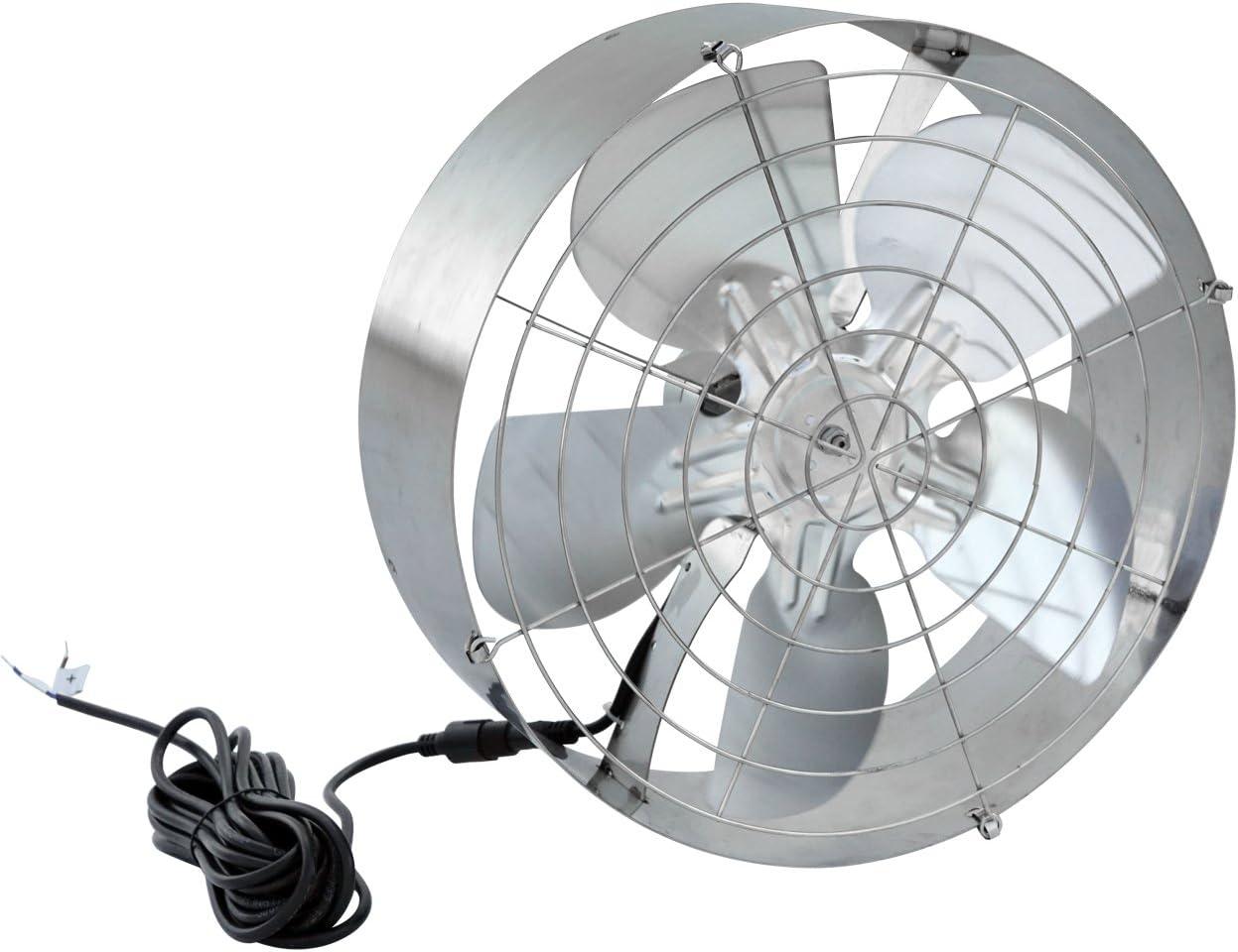 ECO-WORTHY Ventilador solar de 65W 3000 CFM con panel solar ...