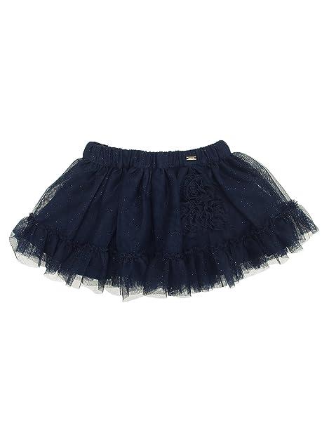 Black 6904 Mayoral Textured Skirt for Girls