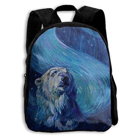 b2923823f8 Crazy Popo Children Sky Spirit Polar Bear Preschool Bag Backpack Satchel  Rucksack Handbag
