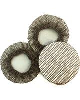 BUN SKINS Reusable Bun Hair Nets for Dancers (3 Pack)