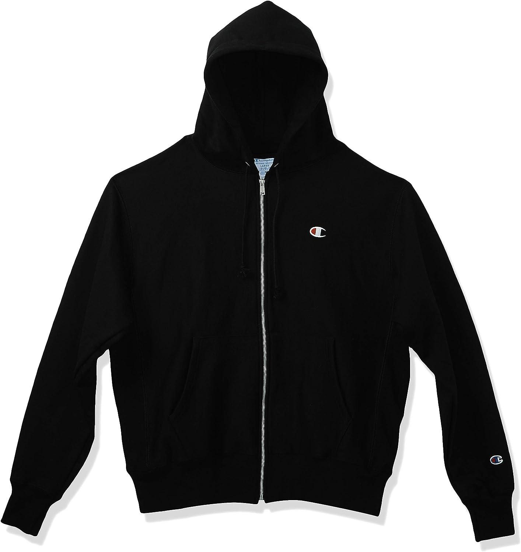 Champion LIFE Men's Life Reverse Weave Full-Zip Hoodie: Clothing