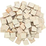 Unfinished Wood Pieces Blank Wood Squares Round Corner Wooden Cutouts for DIY Supplies, Craft, Decoration, Laser…