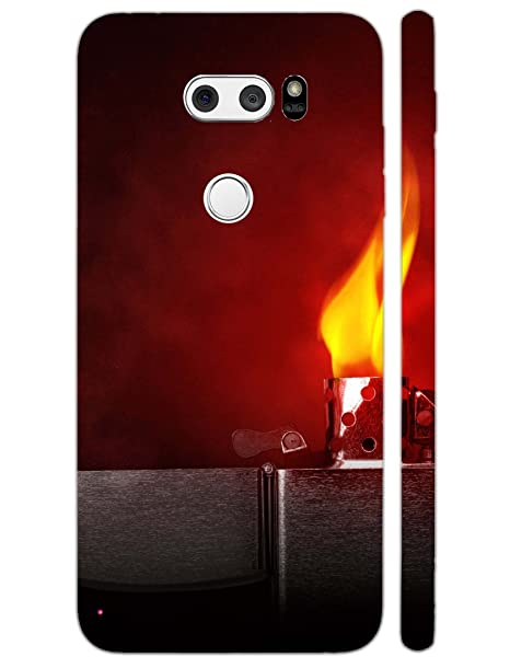 huge selection of d5537 ca6c2 Jaz Deals Designer Lighter Print Hard Mobile Back Cover: Amazon.in ...