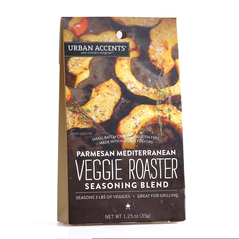 Parmesan Mediterranean Veggie Roaster Seasoning Blend – Vegetable Spice Mix, Urban Accents 1.25 Ounce