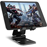 Tablet Stand Syncwire iPad Holder - Adjustable Dual 270° Portable Table Desk Stand for iPad Pro 12.9'' 10.5'' 9.7'' Air Mini, iPhone X 8/7/6s/6 Plus, Samsung Galaxy Tab, Kindle Fire Tablets, Nintendo Switch, Huawei, Nexus - Black
