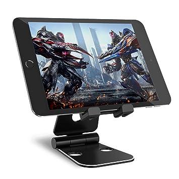 Syncwire Tablet Halterung Pad Ständer - Verstellbarer 2 * 270-Grad Handy  Tisch Stand Halter Staender kompatibel mit iPad Pro, Air Mini, iPhone X 8 7