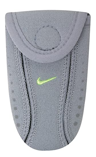 a43ec97ce958b Amazon.com : Nike Running Shoe Wallet (Wolf Grey/Volt, OSFM ...