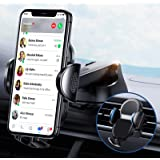 [One Key Release] Phone Holder for Car [Upgrade 4 in 1] Car Holder by [One Hand Operation] fit for Car Dashboard Air…
