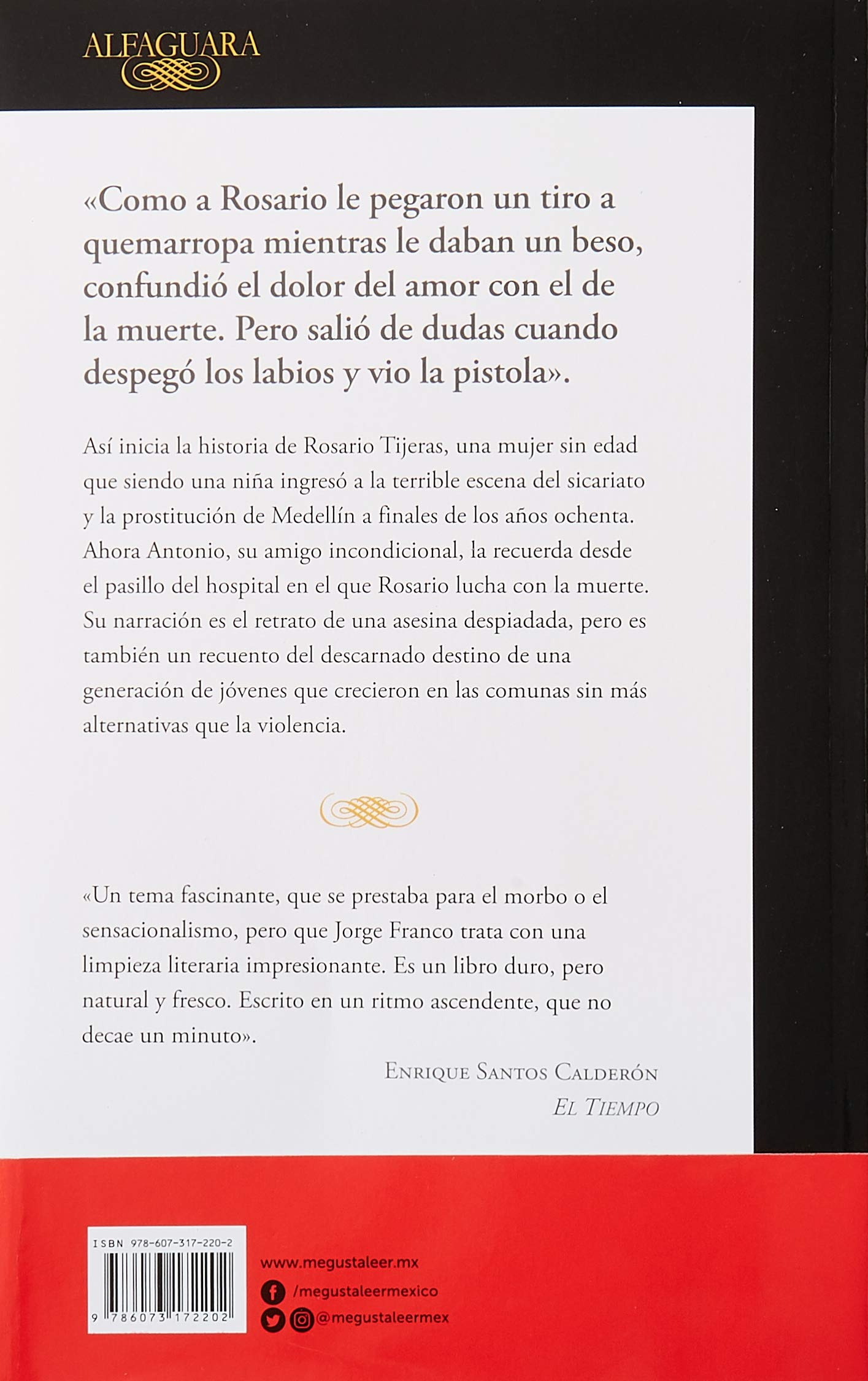 Amazon.com: Rosario Tijeras (9786073172202): Jorge Franco: Books