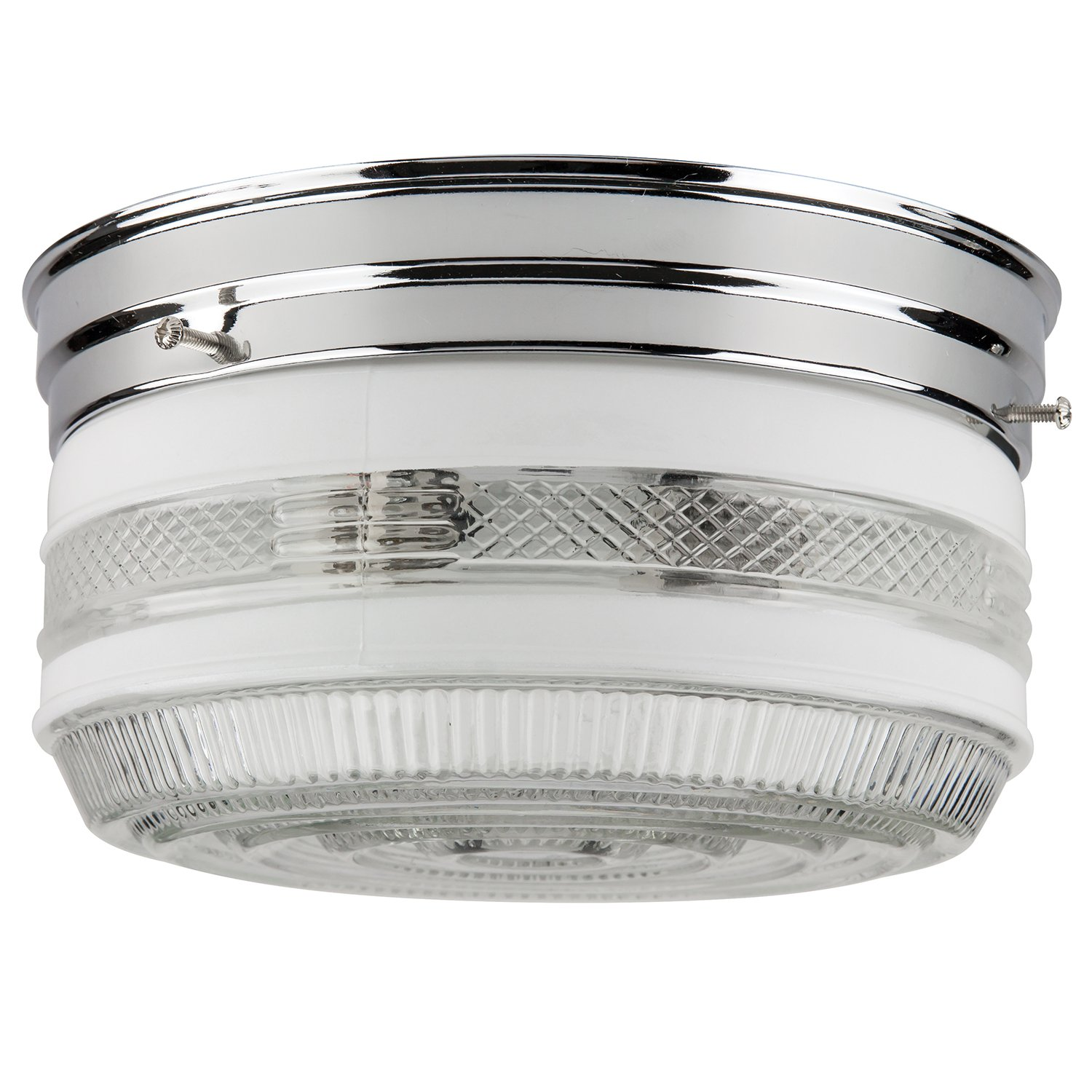 Sunlite kit10/ch 10 inch kitchen ceiling fixture, chrome finish ...