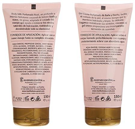 Aire de Sevilla Set de Belleza Edición Rosè - Crema Hidratante Corporal, Eau de Toilette, Gel Exfoliante: Amazon.es: Belleza