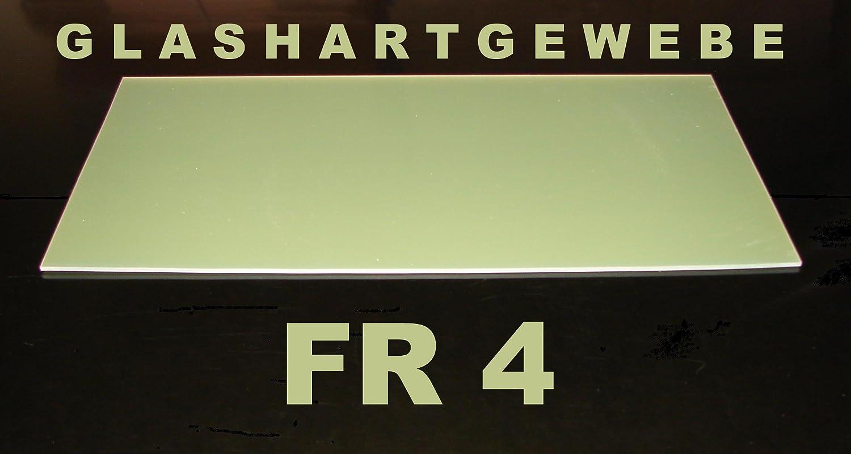 1 0 mm Fiberglass FR4 green sheet size 500 x 250 mm - epoxy