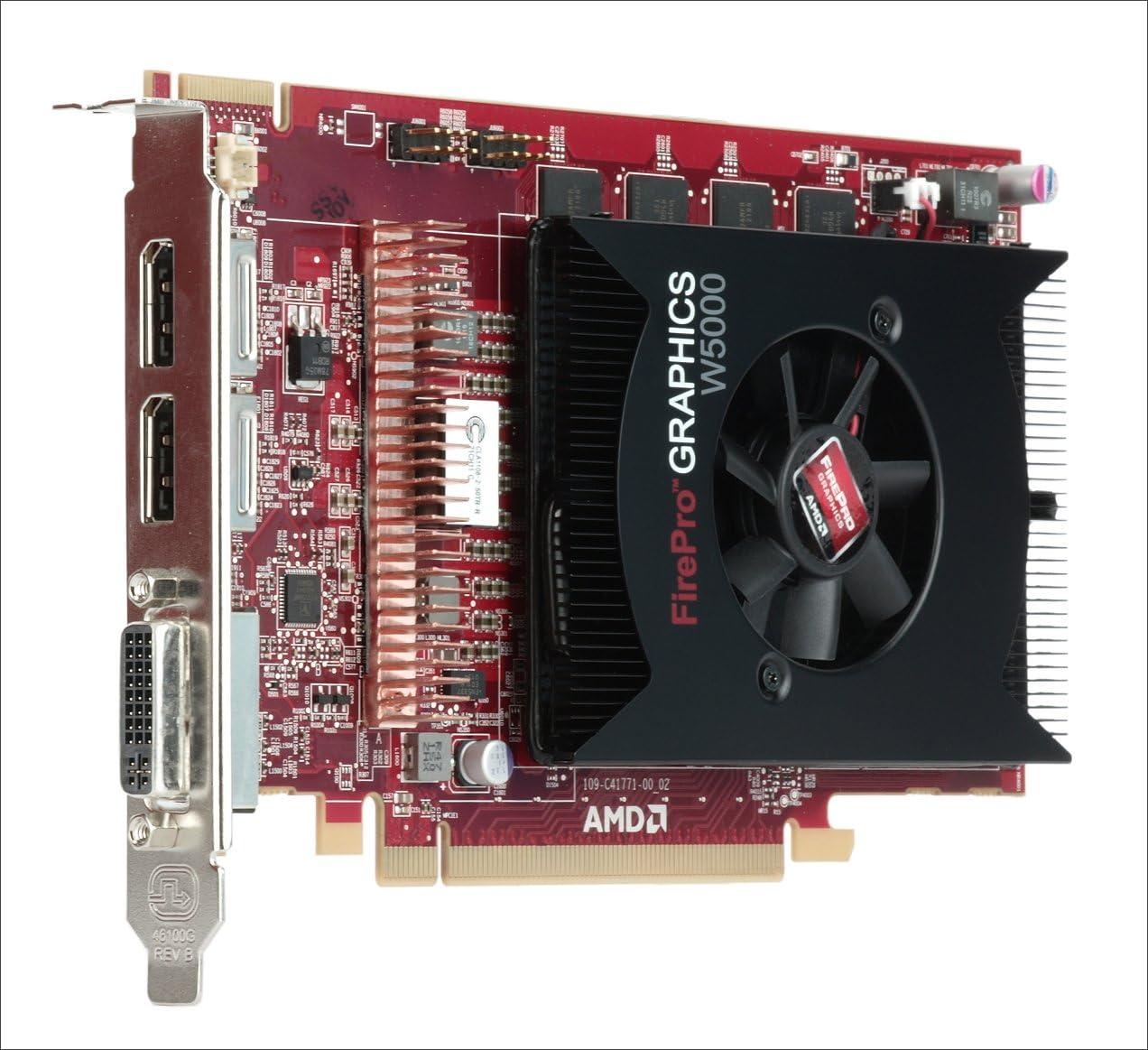 Sapphire AMD FirePro W5000 2GB GDDR5 Dual DVI-I PCI-Express Graphics Card Graphics Cards 100-505838