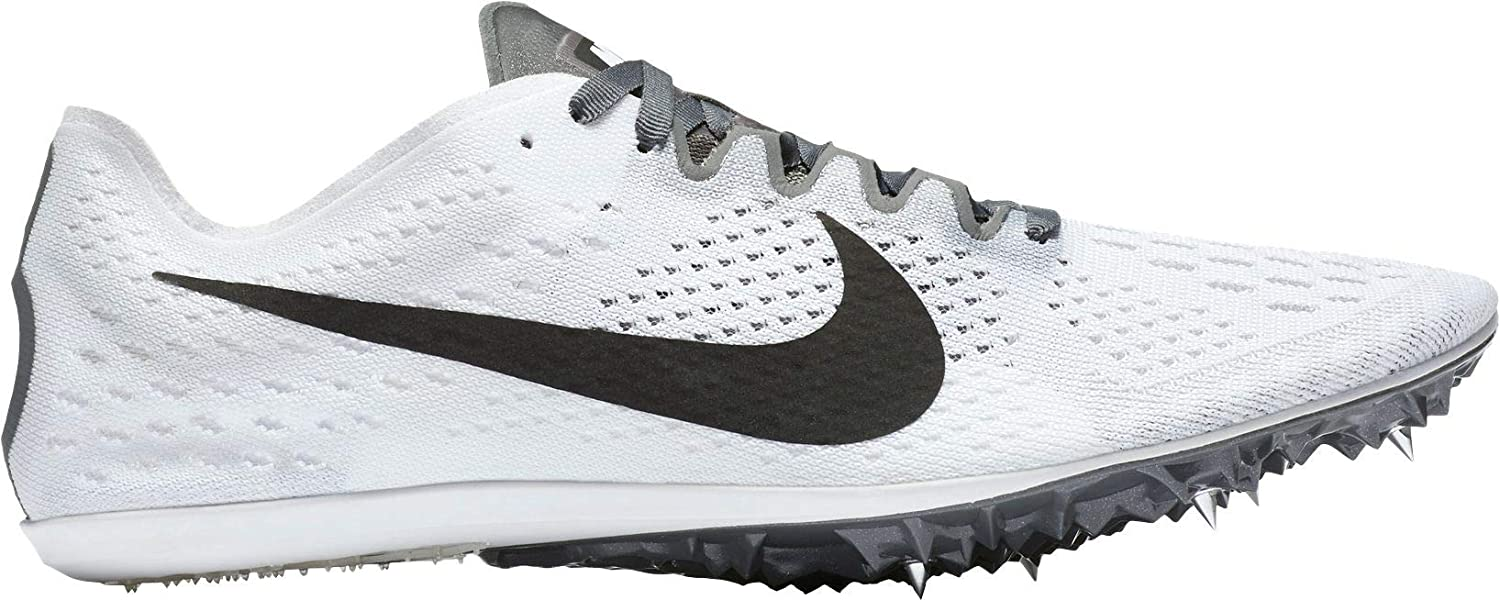 7008255d21ba Amazon.com  Nike Men s Zoom Victory 3 Track and Field Shoes (White Black
