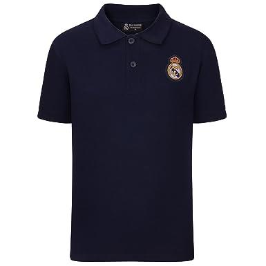 Real Madrid - Polo Oficial para niño - con el Escudo del Club: Amazon.es: Ropa y accesorios