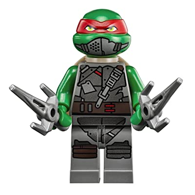 Lego Teenage Mutant Ninja Turtles Armored Raphael Minifigure: Toys & Games