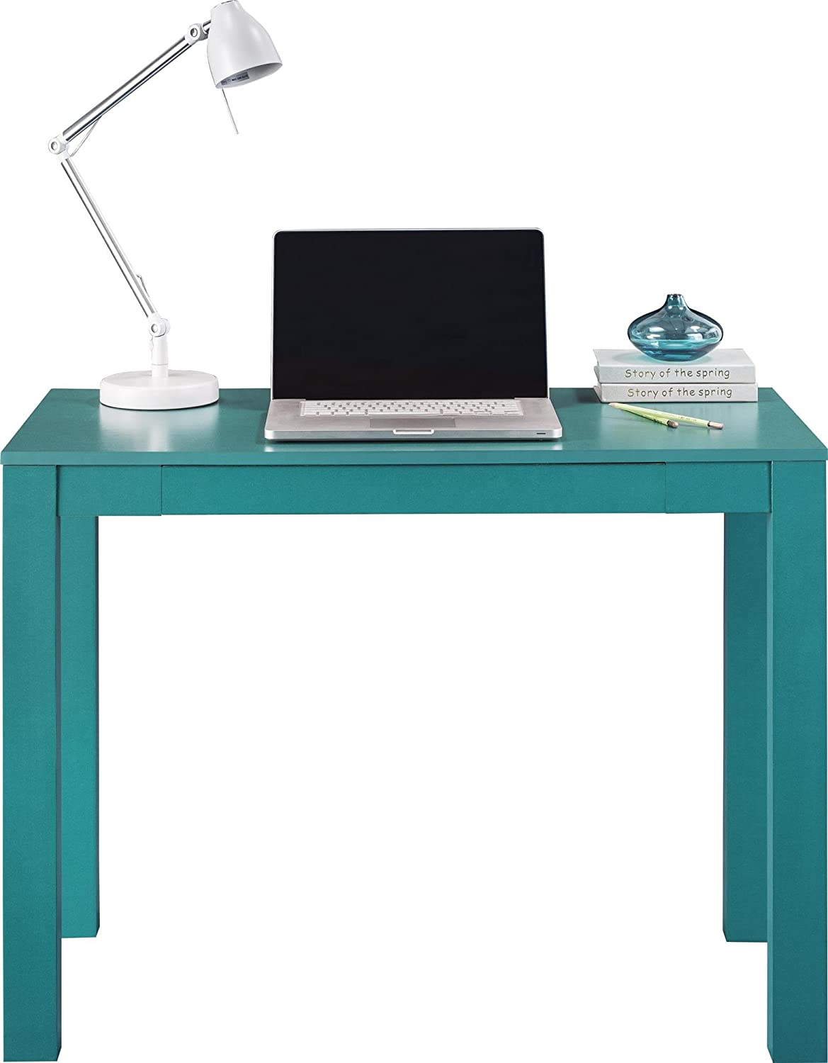 Amazon altra delilah parsons desk with drawer teal kitchen amazon altra delilah parsons desk with drawer teal kitchen dining publicscrutiny Choice Image