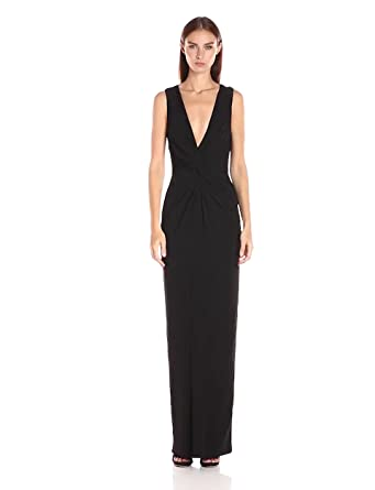 Amazon Badgley Mischka Womens Twist Front Gown Clothing