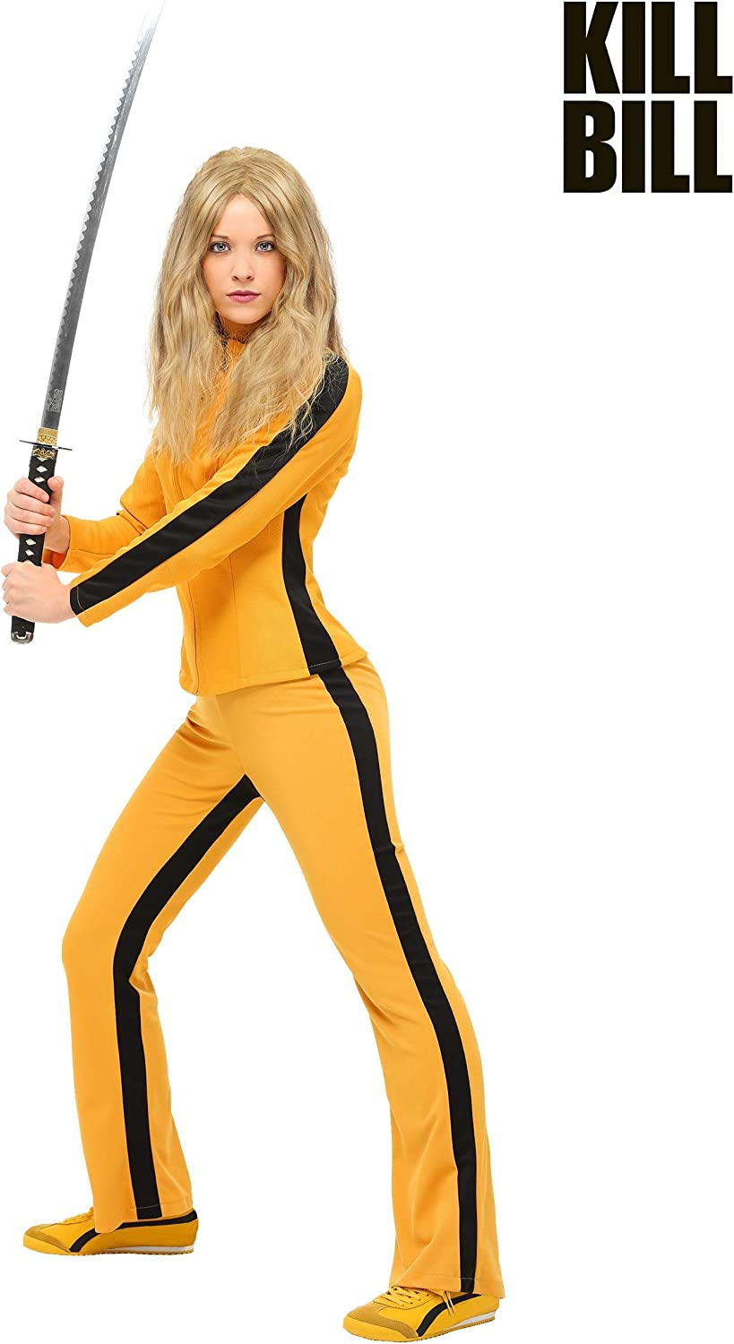 Beatrix Kiddo Womens Fancy Dress Costume Large: Amazon.es ...
