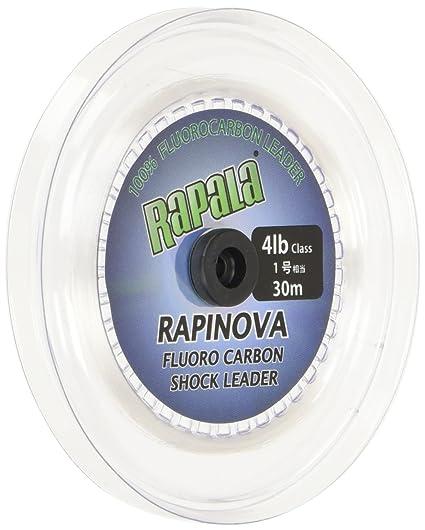 ラパラ(Rapala)ショックリーダーラピノヴァフロロカーボン30m1.0号4lbクリアRFL30M4の画像