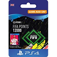 FIFA 20 Ultimate Team - 12000 FIFA Points DLC - PS4 Download Code - UK Account