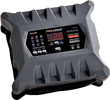 10A 12//24V Solar Pro-Logix Battery Charger Solar SOLPL2410