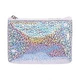 EJY Women Sequin Coin Purse Mini Wallet Money Bag