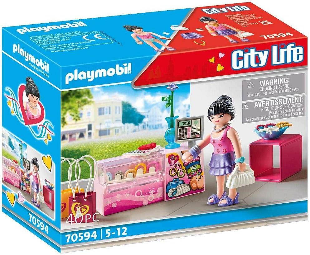 PLAYMOBIL City Life 70594 Accesorios de Moda, Para niños de 5 a 12 años