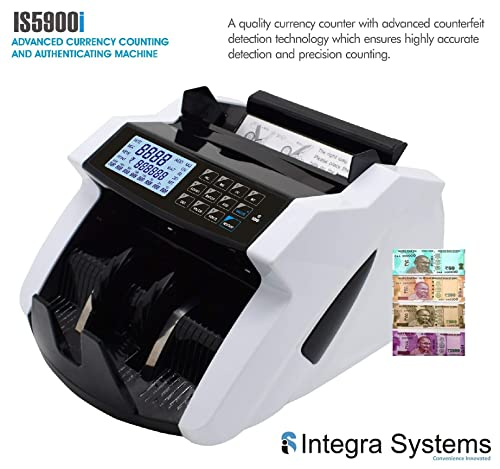 9. Kross Advanced Currency / Note / Money Counting Machine With Fake Note Detection For New INR / Rupees Currency 500 And 2000
