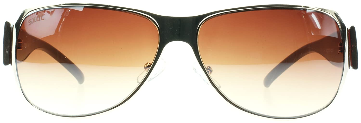 SXUC 7074 Brown Freya Oval Sunglasses
