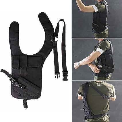 Léger Holster-Tasche Mag Droite Double Épaule Horizontal Épaule Pochette