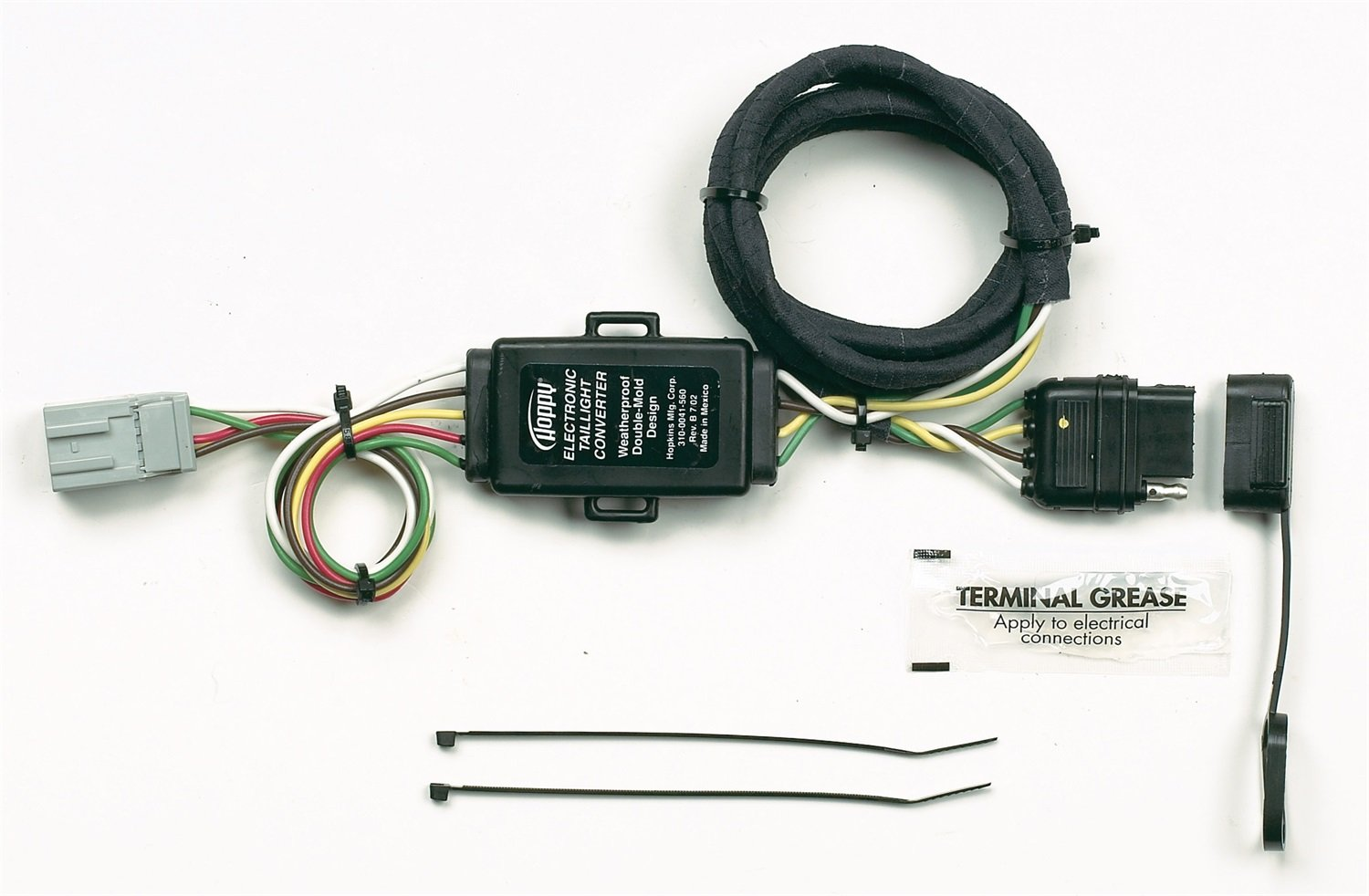 Amazon.com: Hopkins 43105 LiteMate Vehicle to Trailer Wiring Kit (Pico  6756PT) 1994-2002 Honda Accord, 1997-2006 CRV, 2003-2005 Element, 1995-2004  Odyssey, ...